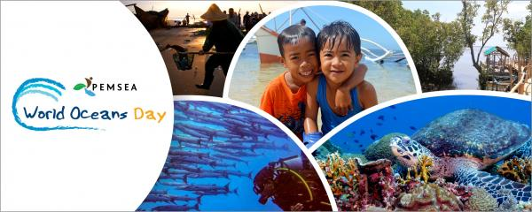 PEMSEA World Oceans Day banner