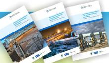 Front covers of the PEMSEAARCOWA wastewater reports