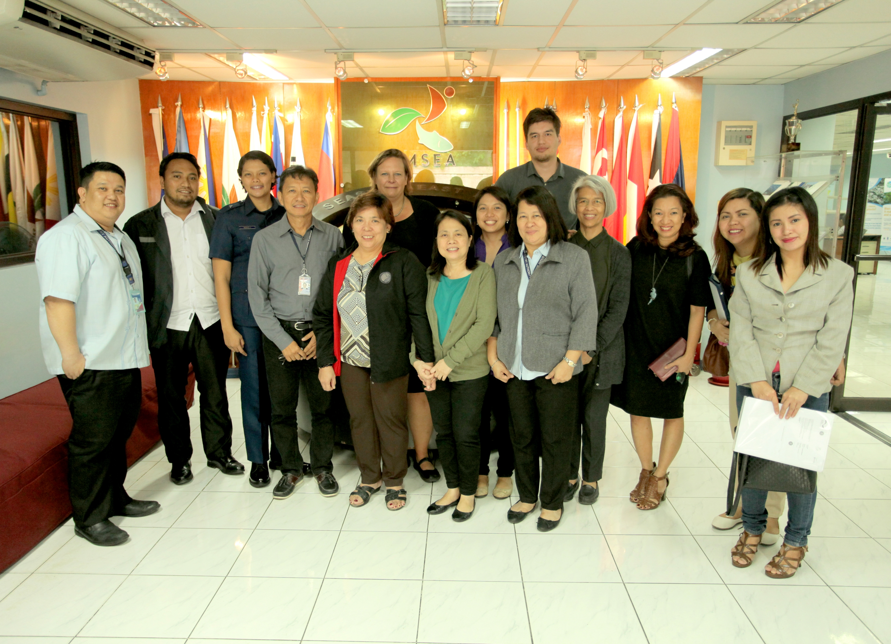 Participants of the Blue Solutions focus group meeting